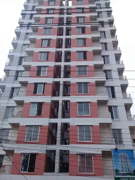 Brand new Ready flat 1320 sft with 24/24 tiles and exclusive fittings at mirpur 12.