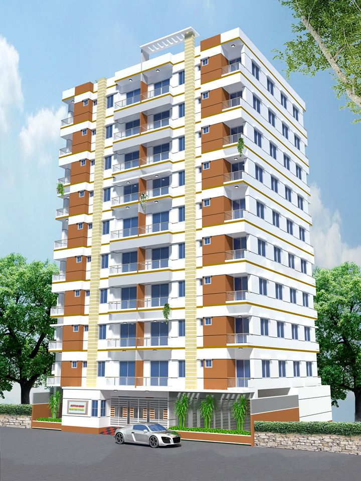 1030/830 Sft Flats For Sale at Mohammadpur.